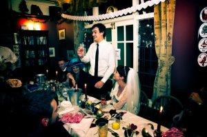 Katy Pearson wedding day