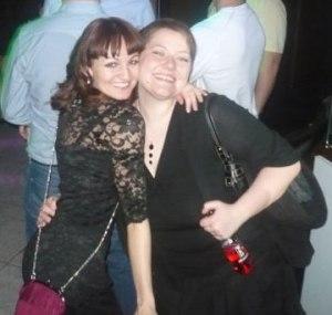 Vicky Baker and Katy Pearson